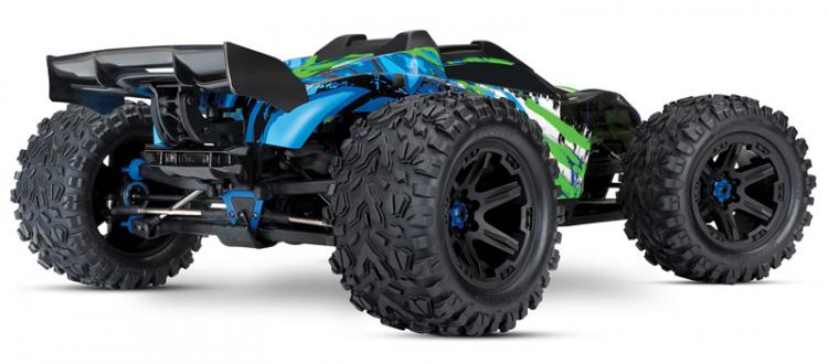 RCFlight - Traxxas E-REVO Brushless 4WD TQi TSM utan Batt