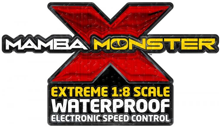RCFlight - Castle Mamba Monster X ESC Combo with new 1512