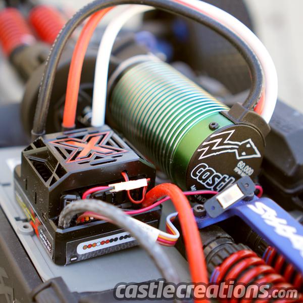 RCFlight - Castle Mamba Monster X ESC 2-6S LiPo WP