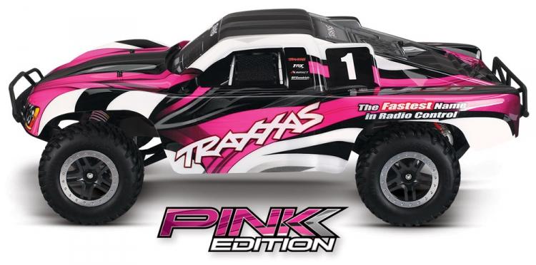 RCFlight - Traxxas Slash 2WD 1/10 RTR TQ Pink